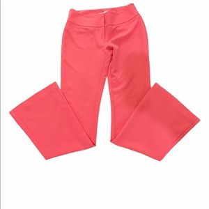 Eva Mendes for NY&CO Salmon/Coral Dress Pants Size